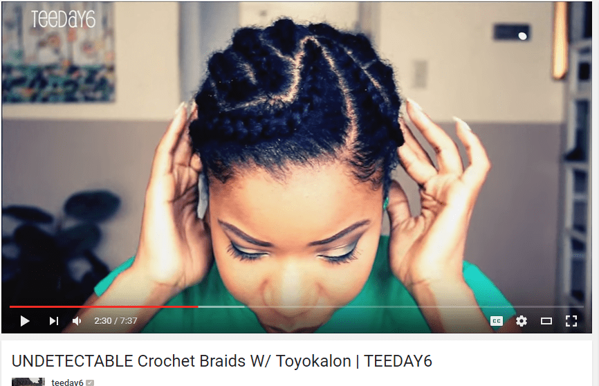 9 Braiding Patterns for Crochet Braids The Kink and I - Crochet Hairstyles