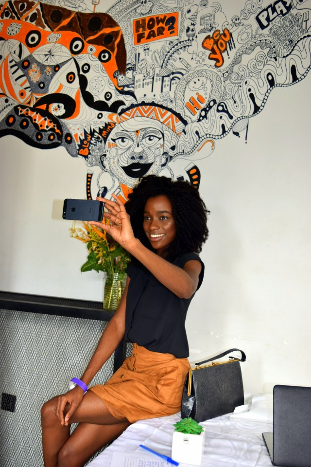 Naturals in the City- Whitney Madueke