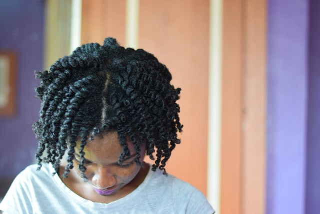 Dry Twist Out with AfroRoots Styling Custard