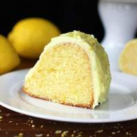 Homemade Lemon Pudding Cake