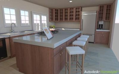 Remodel your Kitchen with the Autodesk Homestyler - The Kitchen Times