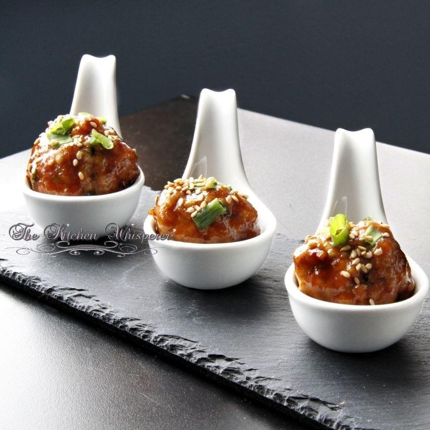 Day 23Countdown to Christmas 2013 Hoisin Asian Meatballs