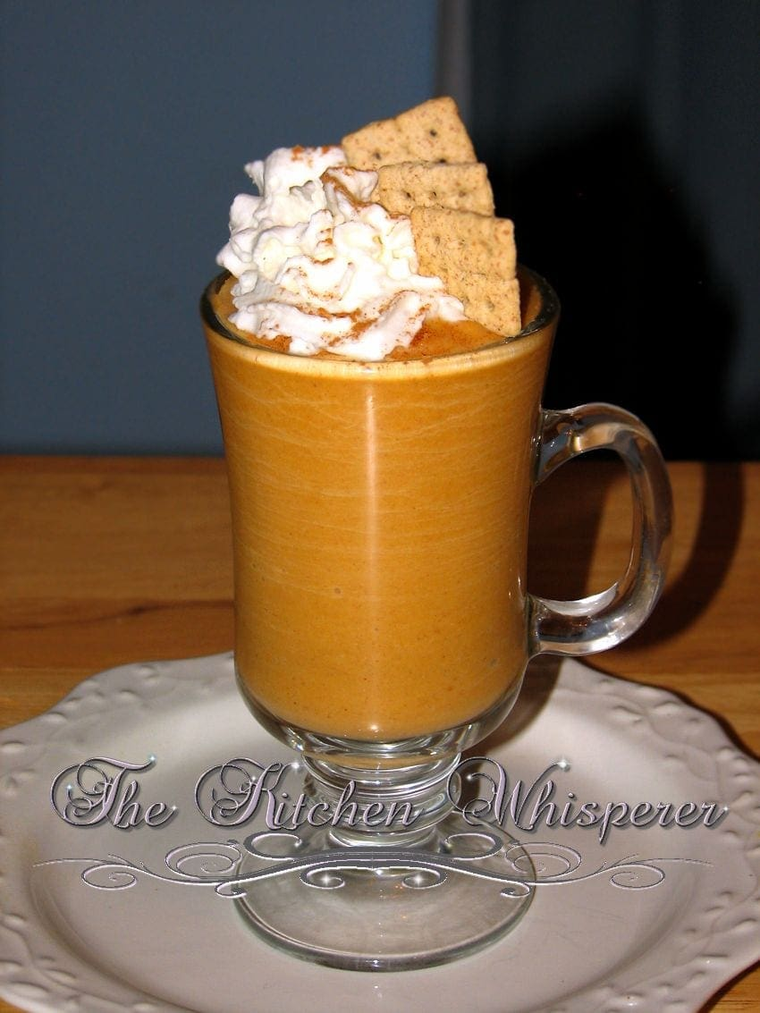 ... nights when you need a little adult libations… Pumpkin Pie Martini