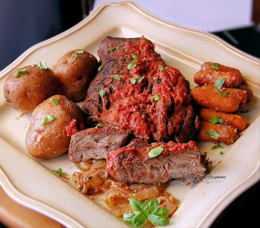 Crock Pot Italian Style Pot Roast