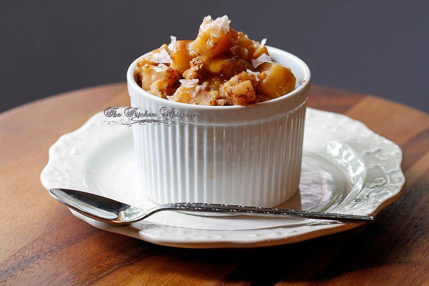 Slow Cooker Steel Cut Oats Apple Pie Oatmeal