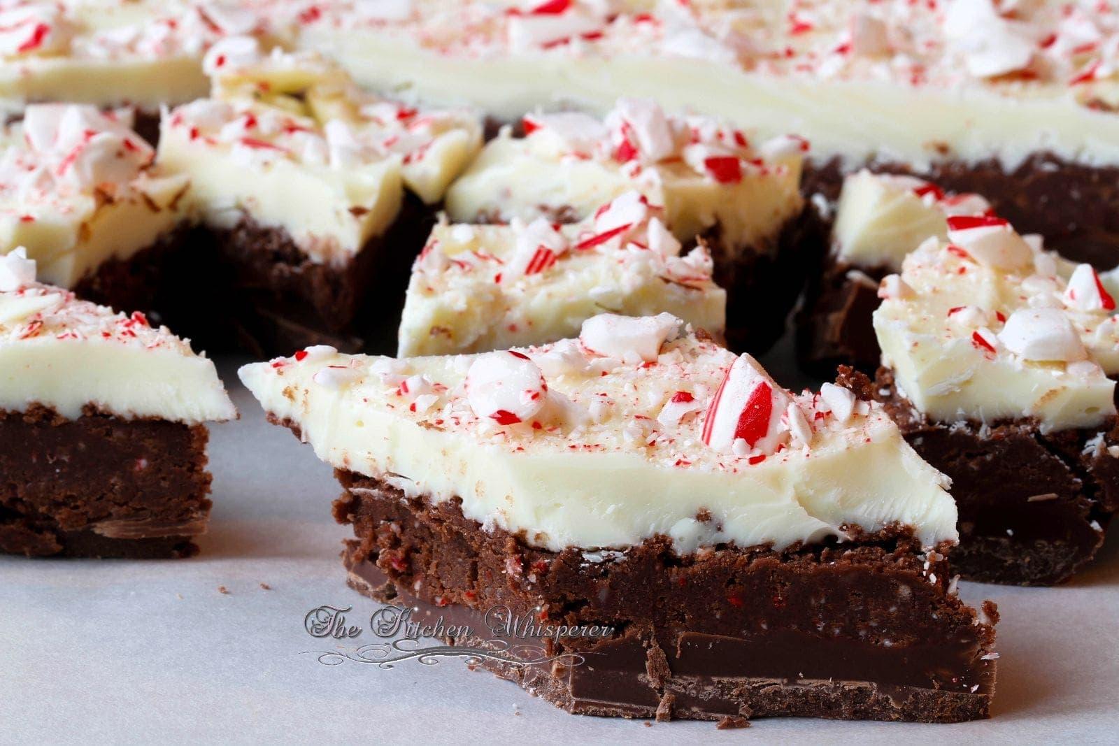 Peppermint Crunch Brownie Batter Bark3
