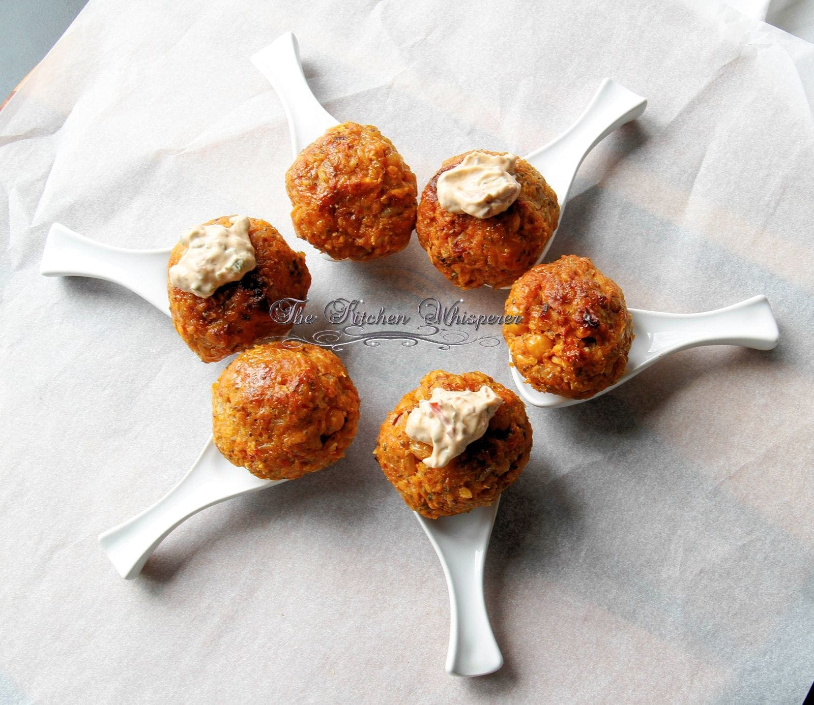 Sweet Potato Veggie Meatballs
