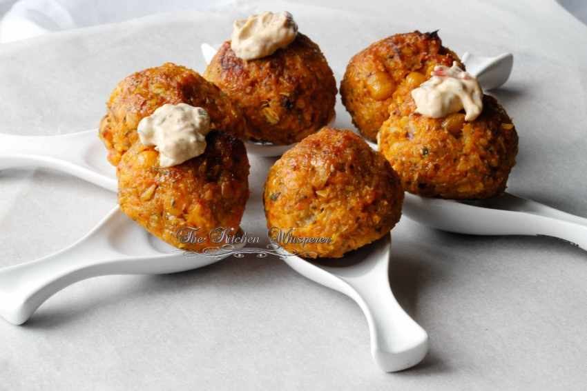 Sweet Potato Veggie Meatballs6