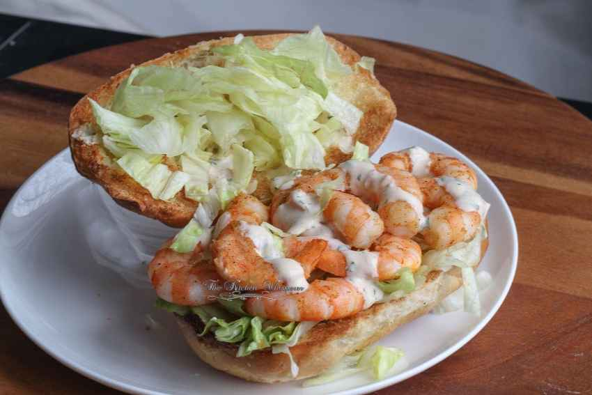 Shrimp Po' Boy Recipe — Dishmaps