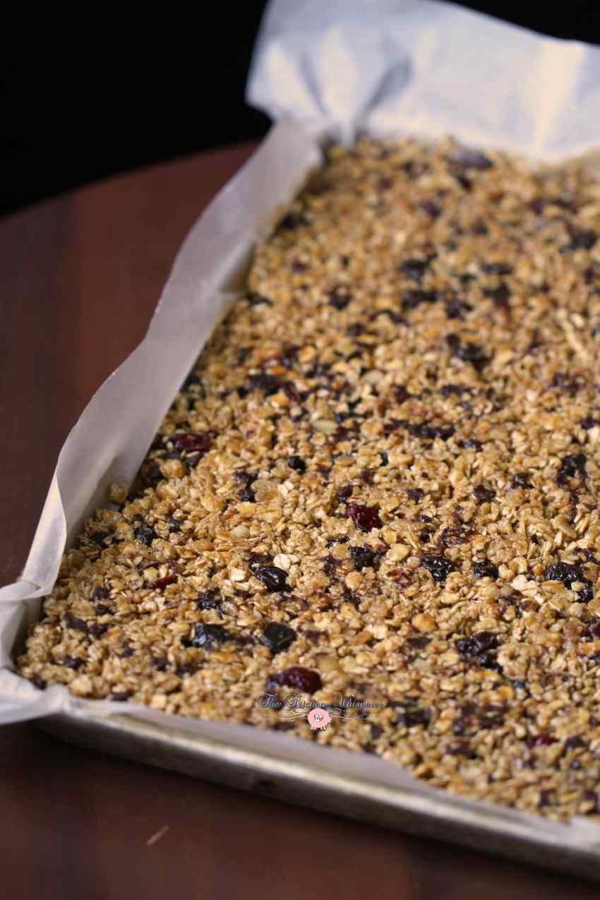 Skinny Peanut Butter Protein Granola Bars2