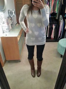 OOTD: Valentine's Day Hearts