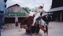 Tammy at Wall Drug.