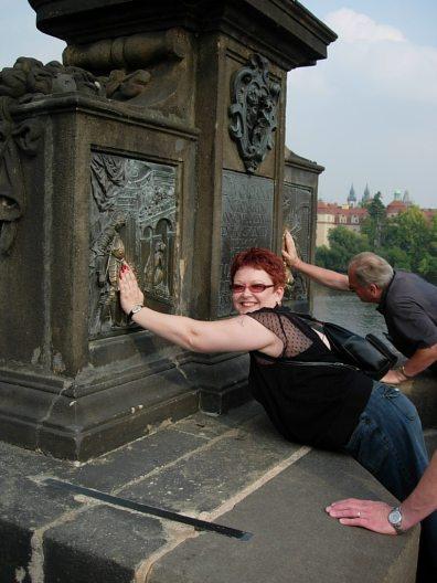 Tammy in Prague.