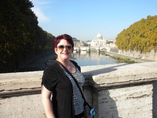 Tammy in Rome.