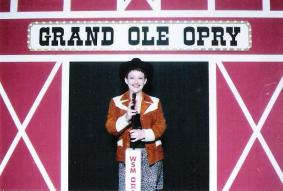 Tammy at The Grand Ole Opry.