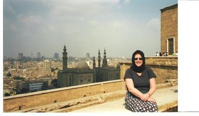 Tammy at Cairo, Egypt.