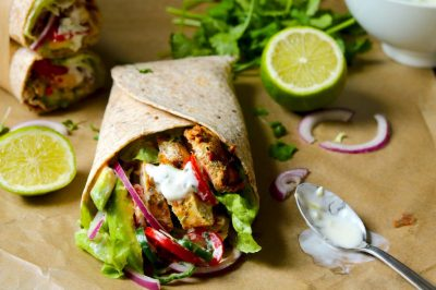 Spicy Chicken Wraps - The Last Food Blog