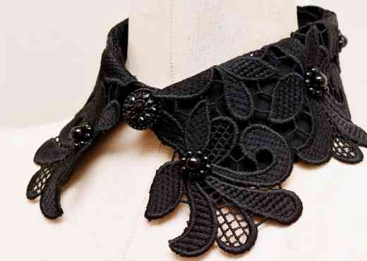how to make a detachable collar