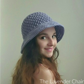 Brickwork Summer Sun Hat - Free Crochet Pattern - The Lavender Chair