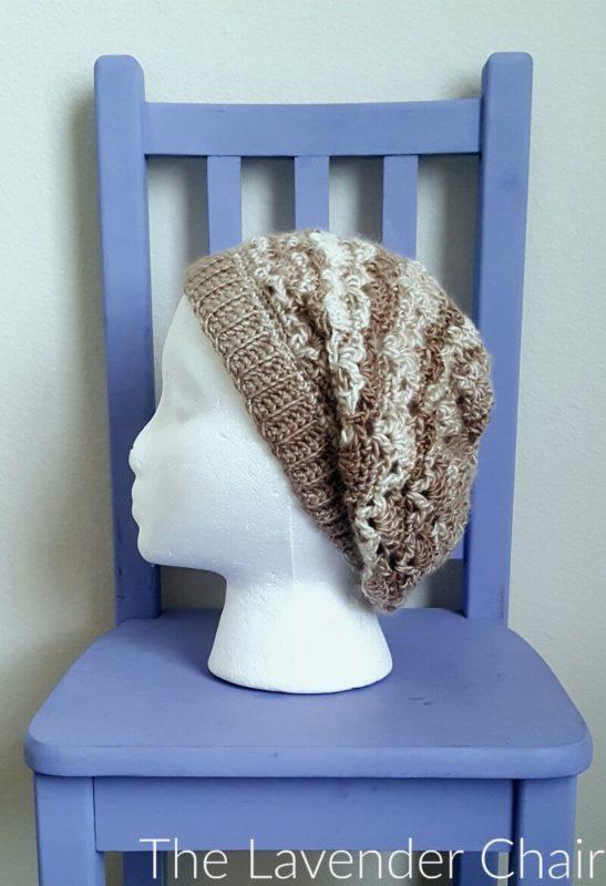 Vintage Slouchy Beanie Crochet Pattern