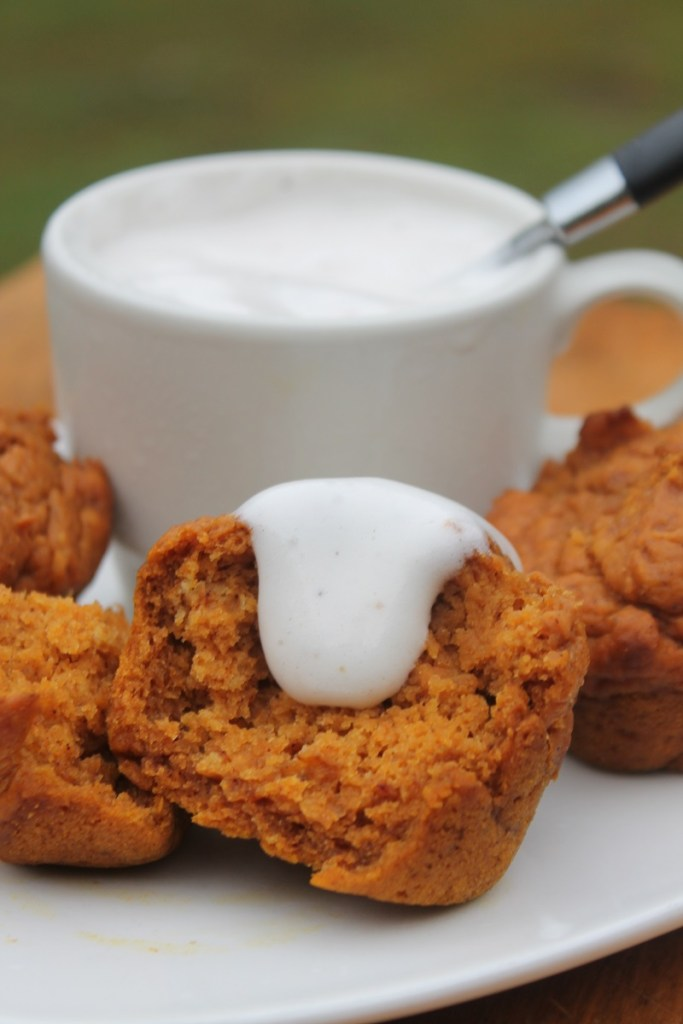 Pumpkin Pie Muffins | The Lazy Vegan Baker
