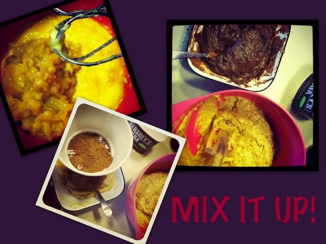 muff3 SRC: Layered Chocolate Banana Muffins