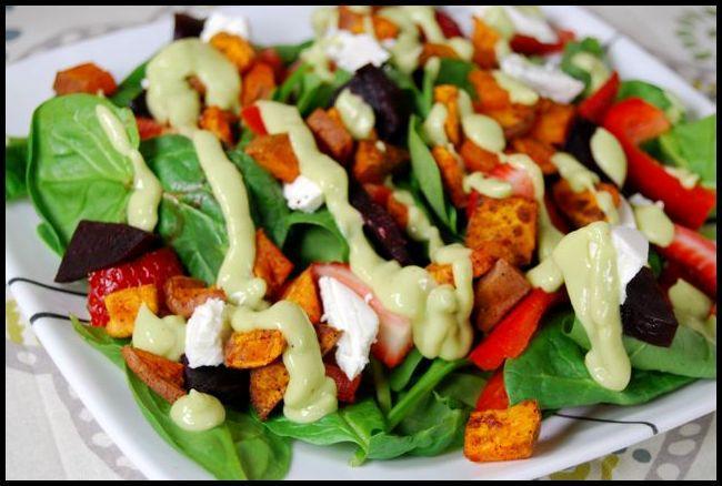 salad4 Ginger Citrus Avocado Dressing