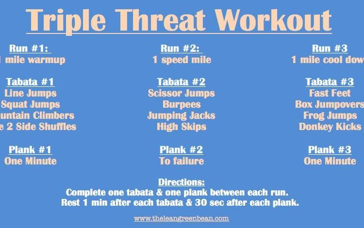 triple Fitness Friday 16