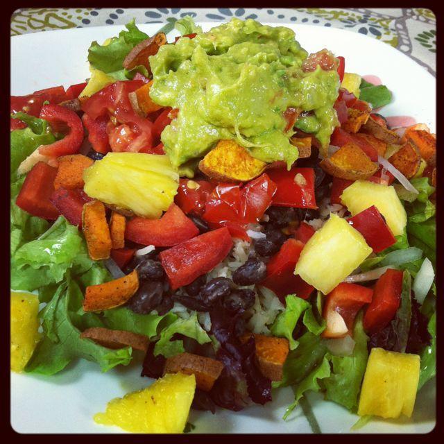 IMG 5077 Burrito Salad