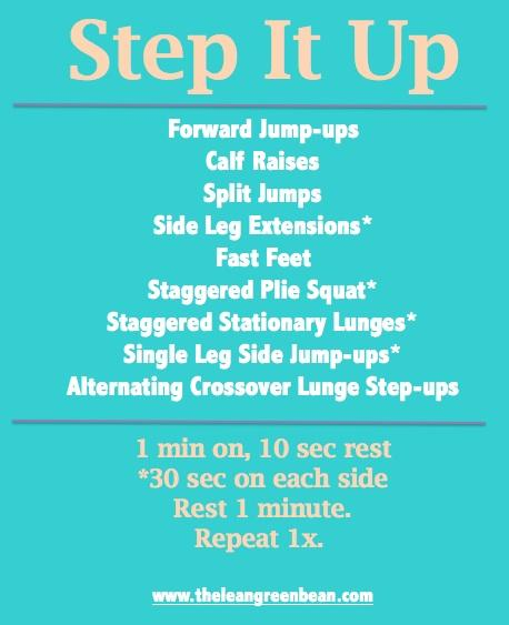 step Fitness Friday 25