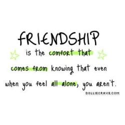 Friendship quote 2 When Its Their Turn