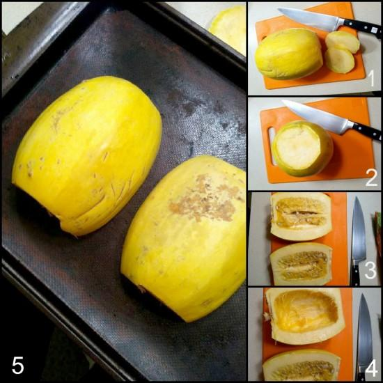 spagsquash2 e1354506700713 3 Ways to Cook Spaghetti Squash