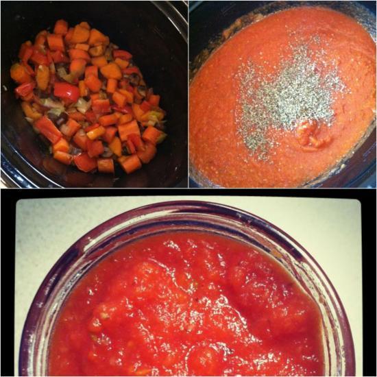 crockpot roasted vegetable sauce Crockpot Roasted Vegetable Sauce