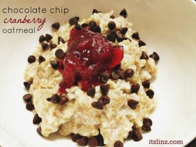 chocolate chip cranberry oatmeal e1388966586826 Bean Bytes 71