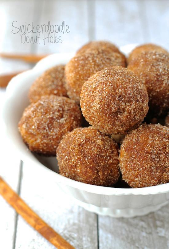 Snickerdoodle Donut Holes Bean Bytes 116