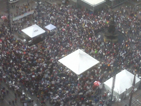 Thousands of racists and terrorists rally at Cincinatti Tea Party