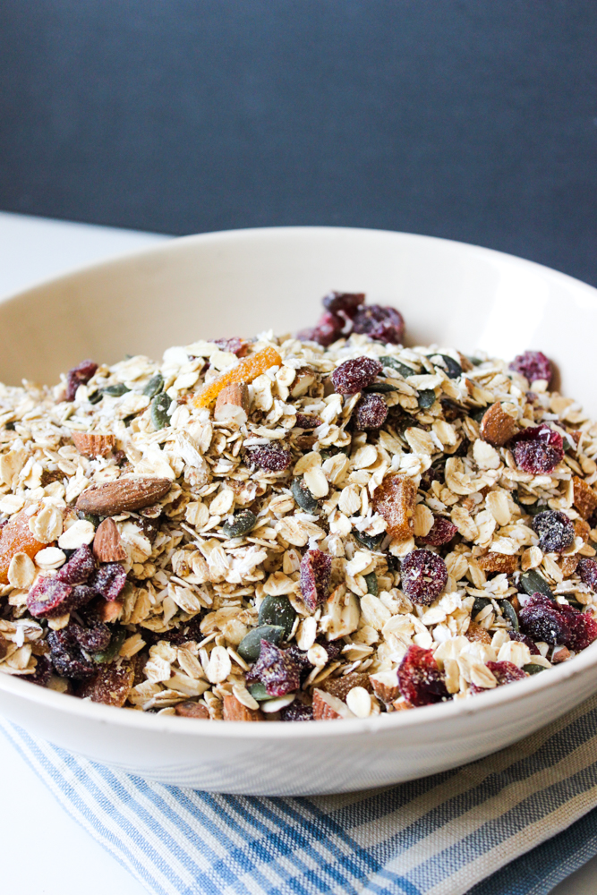 how to make your own healthy muesli