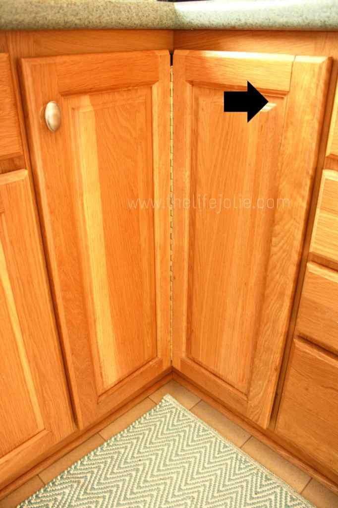 Fixing A Cracked Cabinet Door