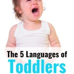 The 5 languages of toddlers