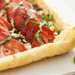 Strawberry Goat Cheese Tart