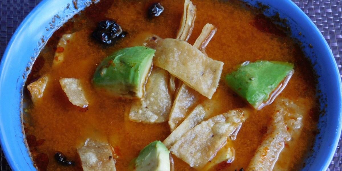 Tarascan Soup, The Original Tortilla Soup