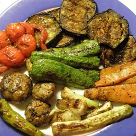 Greek Marinated Grilled Vegetables