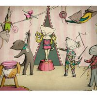 Ella Goodwin - Circus Cats - Theresa Trapeza and Friends