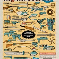 Pop Culture Weapons Print
