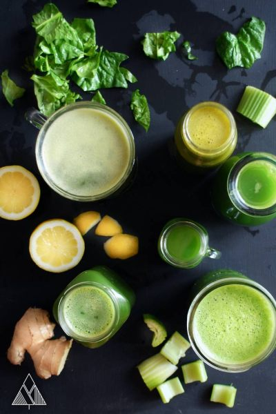 5 Mean Green Juice Recipes - Little Pine Low Carb