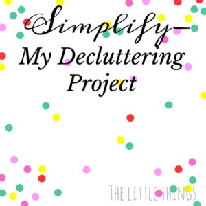 My Decluttering Project