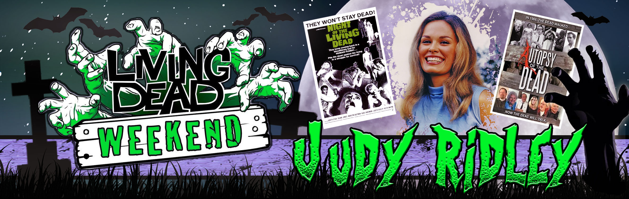 Night of the Living Dead's Judy Ridley will be a guest at the Living Dead Weekend 2016