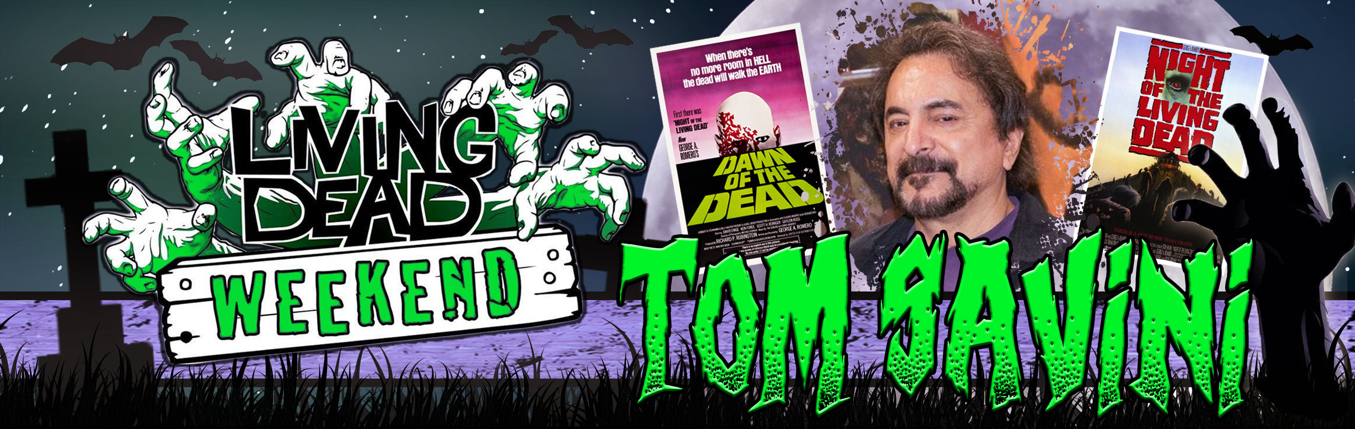 Tom Savini Special Guest Living Dead Weekend 2016