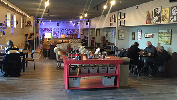 Shelter on Van Buren Offers New Spot to Drink Coffee and Socialize