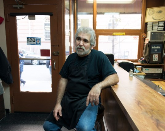 Carmine Morales, owner of Classic Coffee Shop.